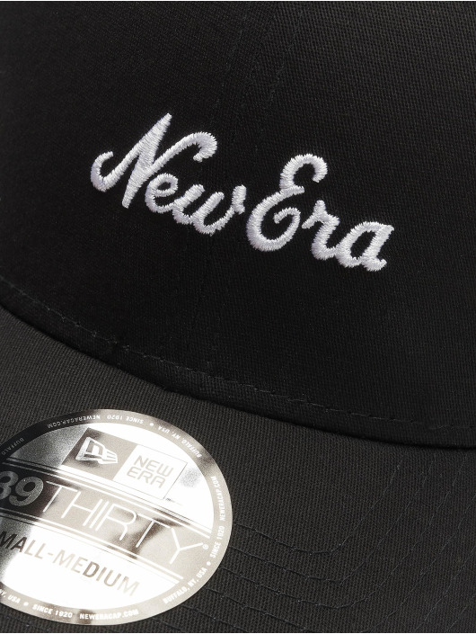 New Era Flexfitted Cap 39Thirty schwarz