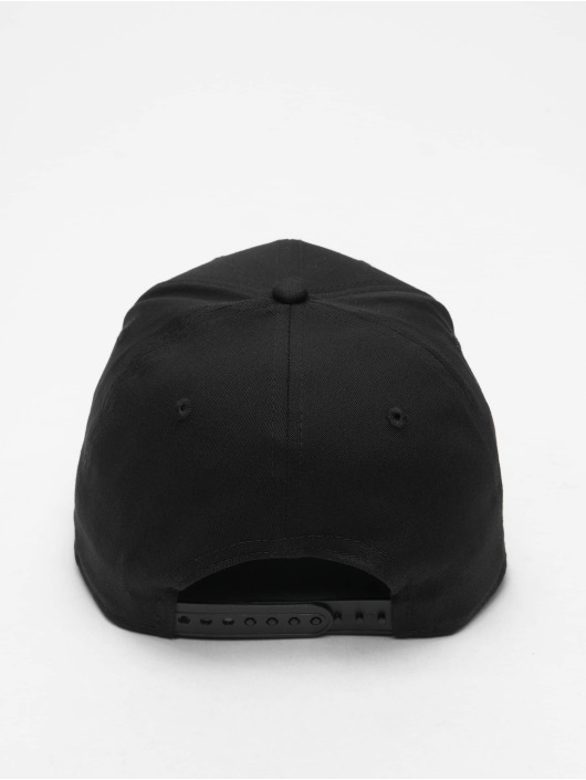 New Era Flexfitted Cap Tonal Black 9Fifty LA Lakers schwarz