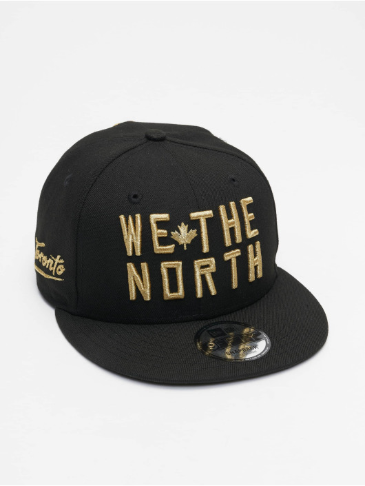 New Era Flexfitted Cap NBA20 Toronto Raptors City Alt EM 9Fifty schwarz