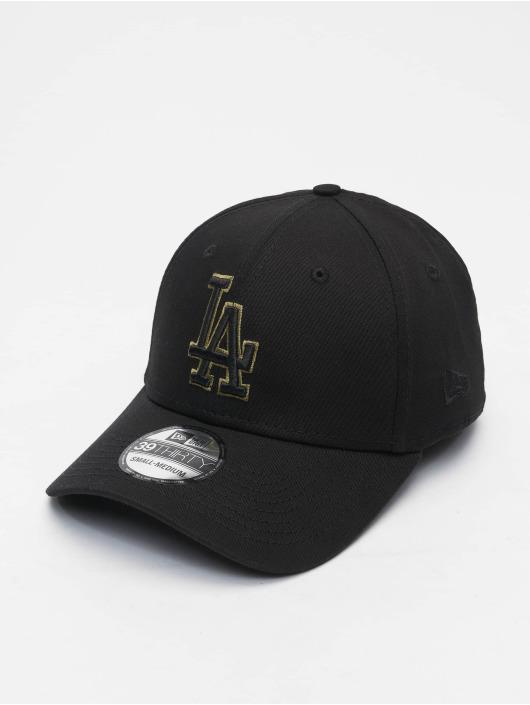 New Era Flexfitted Cap MLB Los Angeles Dodgers Tonal 39Thirty schwarz