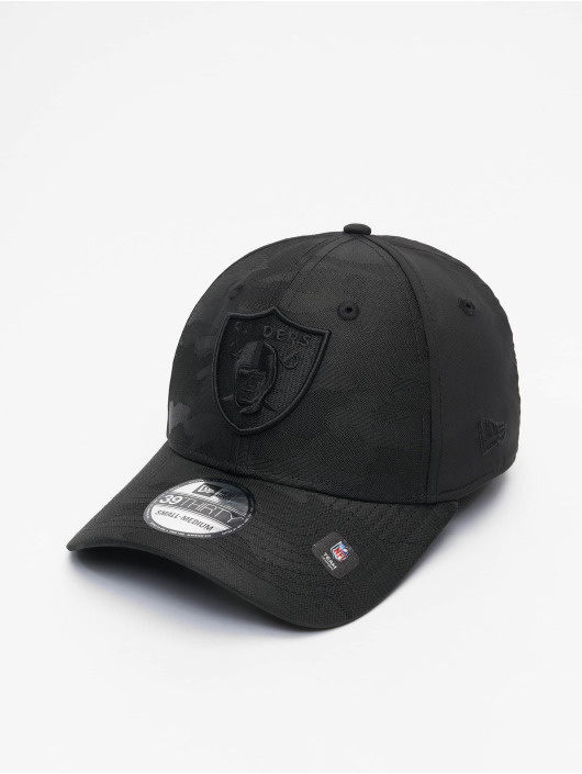 New Era Flexfitted Cap NFL Las Vegas Raiders Black Camo 39Thirty schwarz