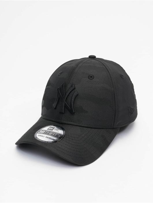 New Era Flexfitted Cap MLB New York Yankees Black Camo 39Thirty schwarz