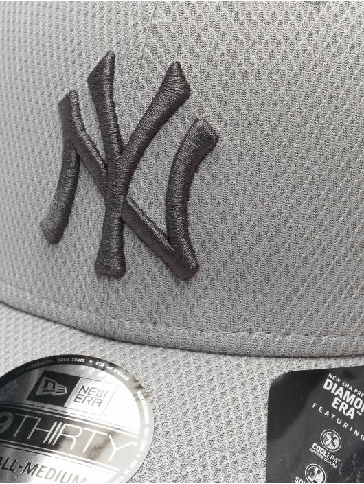 New Era Flexfitted Cap MLB NY Yankees Team 39thirty szary