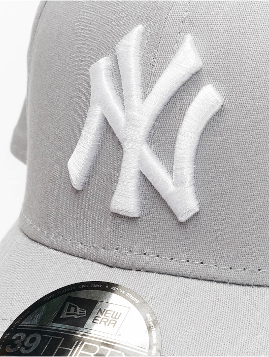 New Era Flexfitted Cap League Basic NY Yankees 39Thirty szary