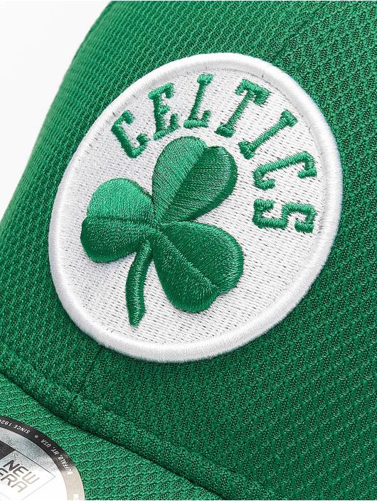 New Era Flexfitted Cap NBA Boston Celtics Diamond Era 39thirty zelená