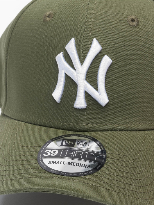New Era Flexfitted Cap MLB NY Yankees League Eshortsleeveentl 39thirty zelený