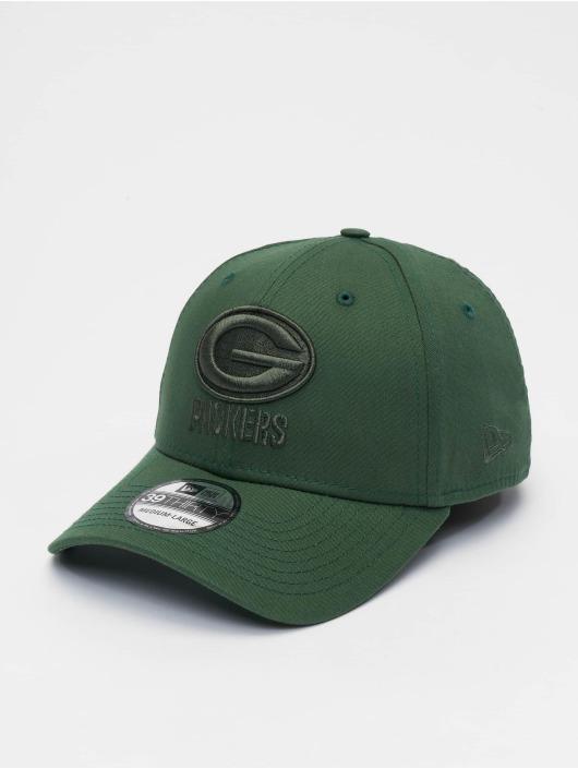 New Era Flexfitted Cap NFL Green Bay Packers Team Tonal 39thirty zielony