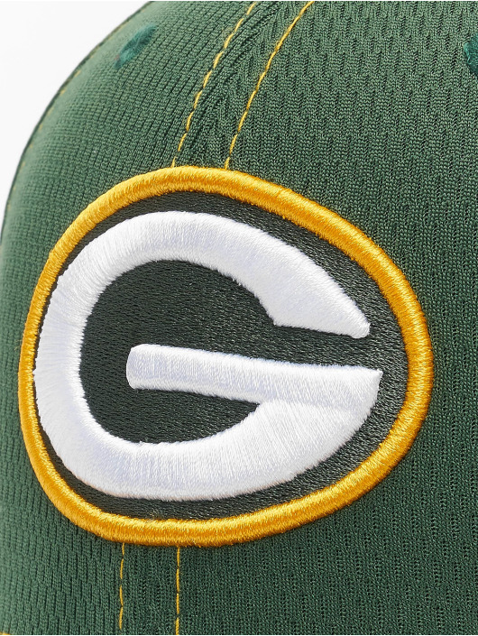 New Era Flexfitted Cap NFL Green Bay Packers Onfield Road 39Thirty zielony