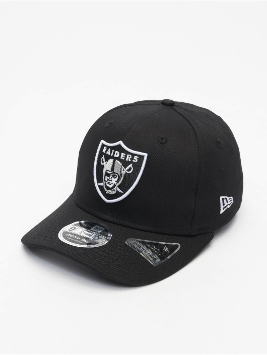 New Era Flexfitted Cap Team Stretch 9Fifty Las Vegas Raiders zwart