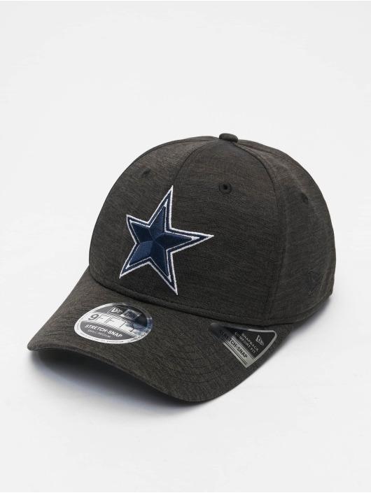 New Era Flexfitted Cap NFL Dallas Cowboys Total Shadow Tech 9Fifty zwart