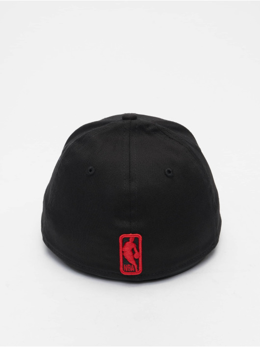 New Era Flexfitted Cap NBA Chicago Bulls Tonal 39Thirty zwart