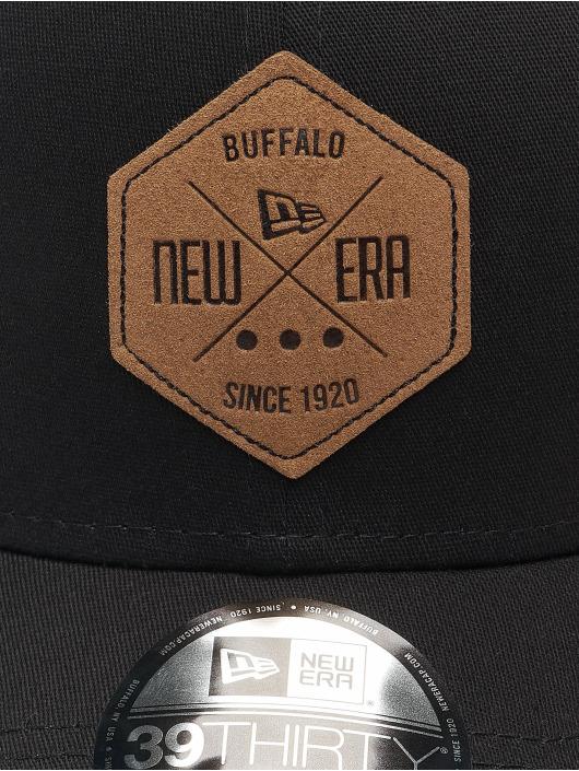 New Era Flexfitted Cap NE Colour Essential 39Thirty zwart