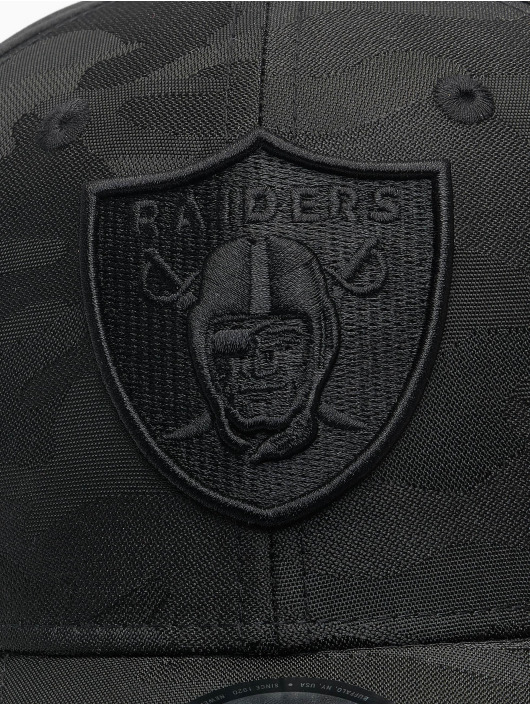 New Era Flexfitted Cap NFL Las Vegas Raiders Black Camo 39Thirty zwart