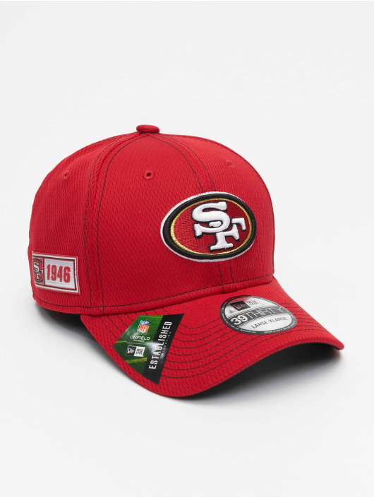 New Era Flexfitted-lippikset NFL San Francisco 49ers 39Thirty punainen