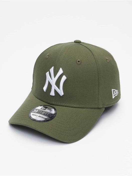New Era Flexfitted-lippikset MLB NY Yankees League Eshortsleeveentl 39thirty vihreä