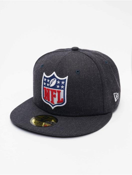 New Era Gorra plana NFL Official Logo 59Fifty azul