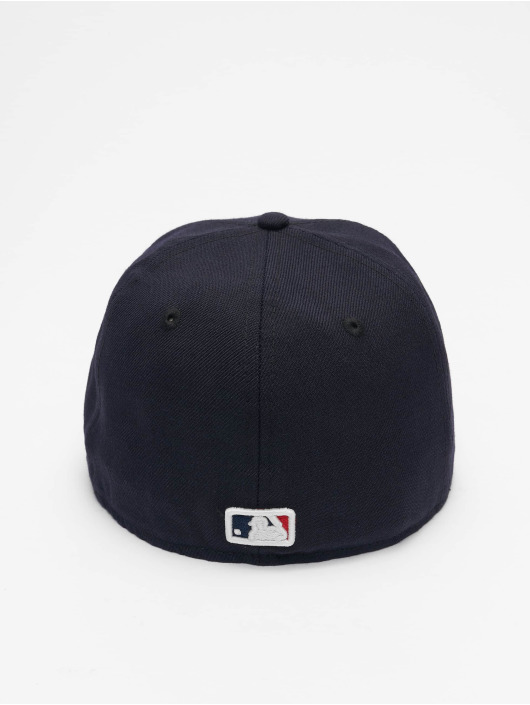 New Era Gorra plana MLB New York Yankees Skull 59Fifty azul