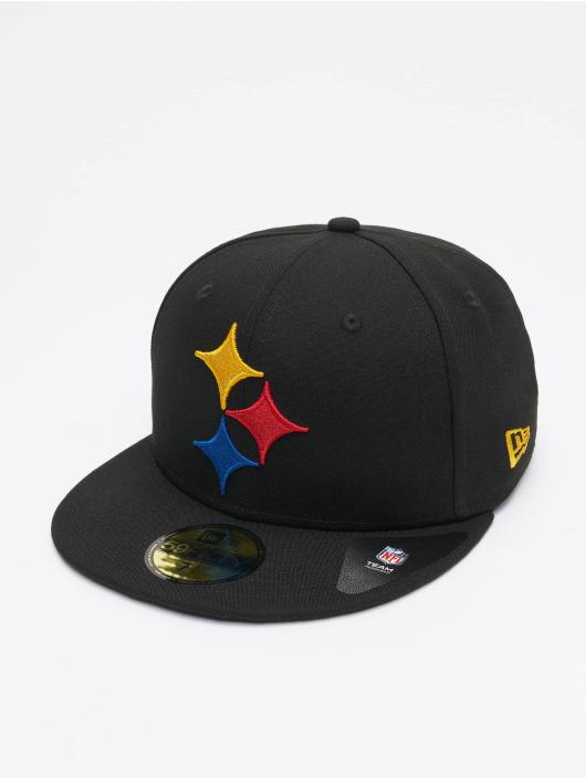 New Era Gorra plana NFL Pittsburgh Steelers Team Tonal 59Fifty negro