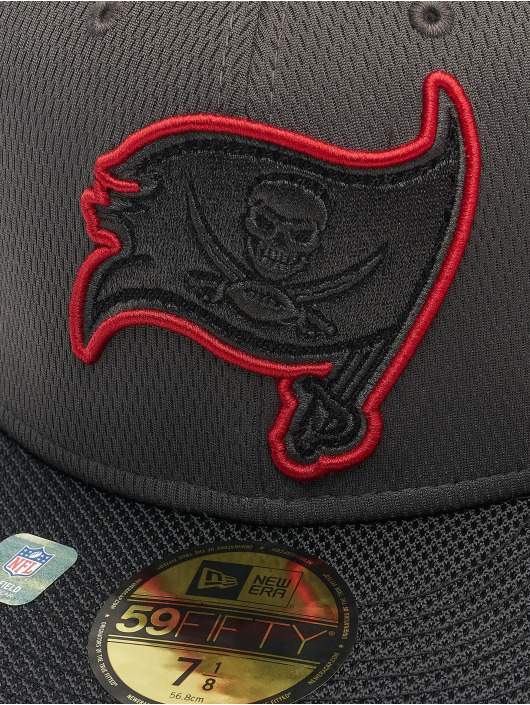 New Era Gorra plana NFL Tampa Bay Buccaneers Sideline Road 59Fifty rojo