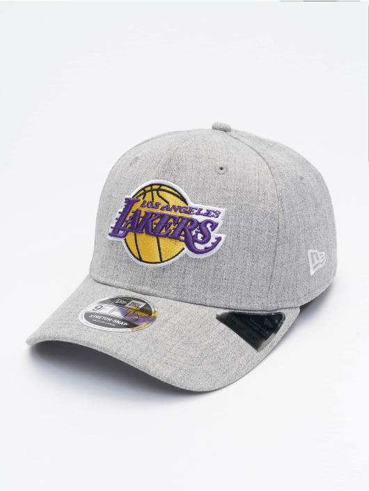 New Era Gorra Snapback NBA LA Lakers Heather Base gris
