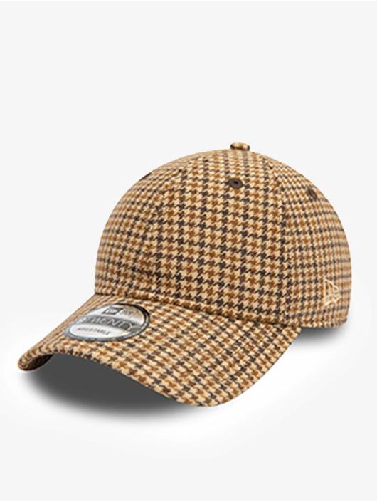New Era Gorra Snapback Check 9Twenty marrón