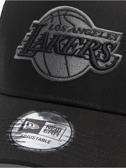 New Era Gorra Trucker NBA LA Lakers Bob negro