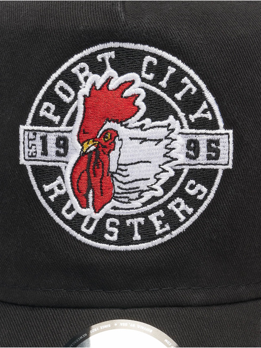 New Era Gorra Trucker Minor League Portland Beavers Patch 9Forty AF negro