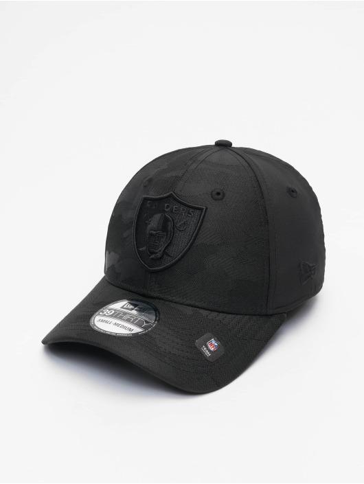 New Era Gorras Flexfitted NFL Las Vegas Raiders Black Camo 39Thirty negro