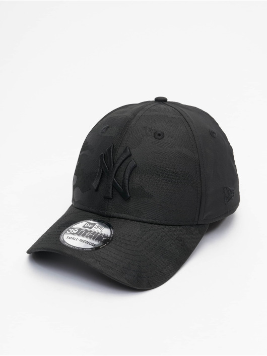 New Era Gorras Flexfitted MLB New York Yankees Black Camo 39Thirty negro