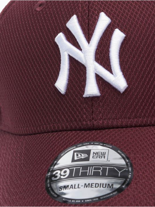 New Era Gorras Flexfitted MLB NY Yankees Diamond Era 39thirty rojo