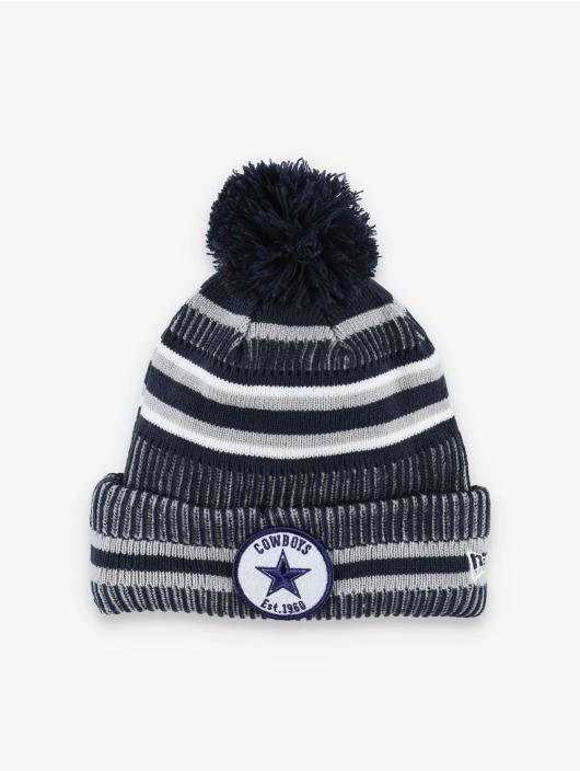 New Era gorro de punto NFL Dallas Cowboys Onfield Cold Weather Home azul