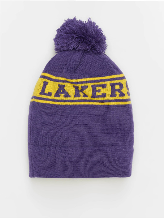 New Era Hat-1 NBA Team Jake Los Angeles Lakers Cuff purple