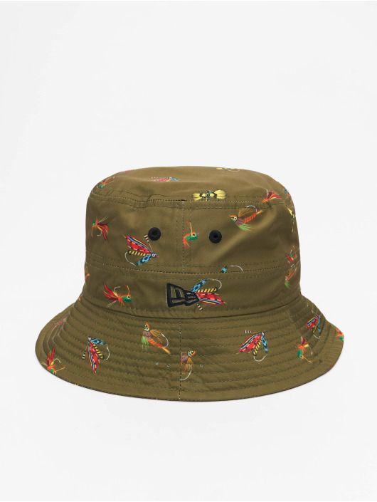 New Era Hat All Over Print Fishing olive