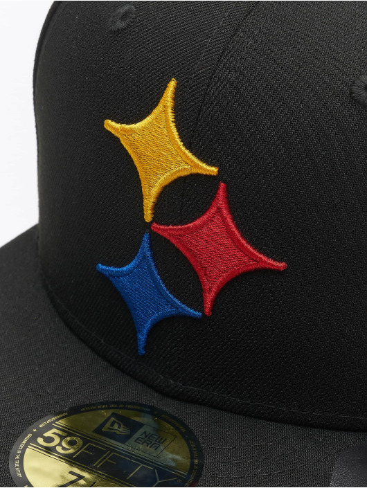 New Era Hip hop -lippikset NFL Pittsburgh Steelers Team Tonal 59Fifty musta