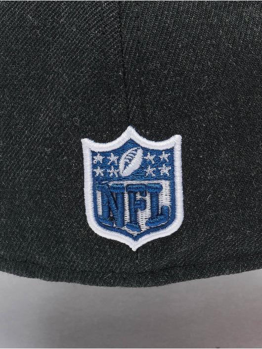 New Era Hip hop -lippikset NFL New England Patriots 59Fifty musta