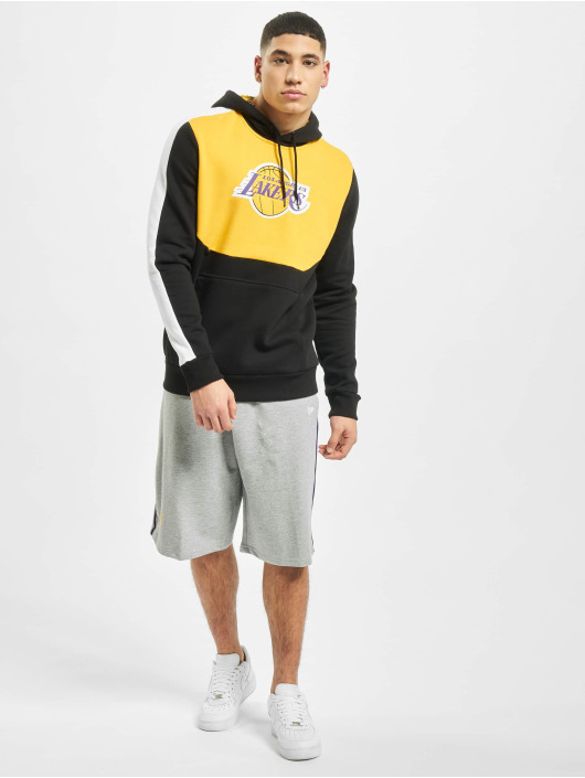 New Era Hoodie NBA LA Lakers Colour Block black
