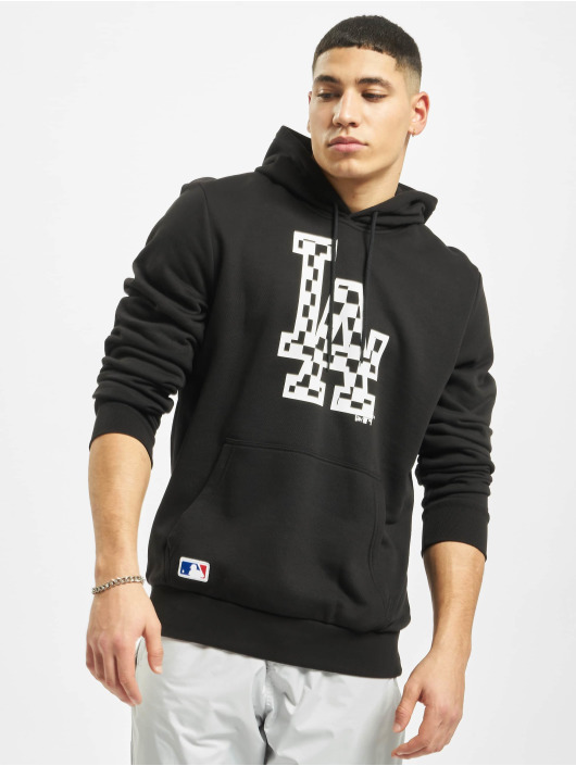 New Era Hoodie MLB LA Dodgers Infill Logo black