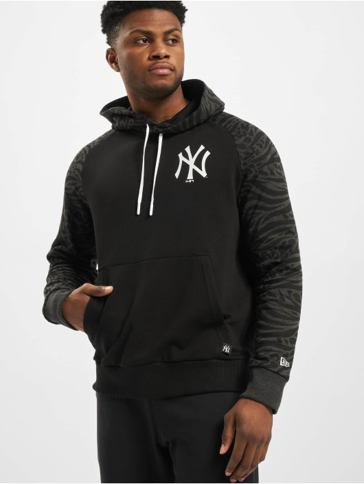 New Era Hoodie MLB NY Yankees Print Panel black