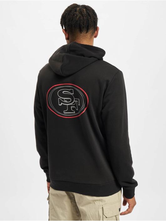 New Era Hoodie NFL San Francisco 49ers Outline Logo PO black
