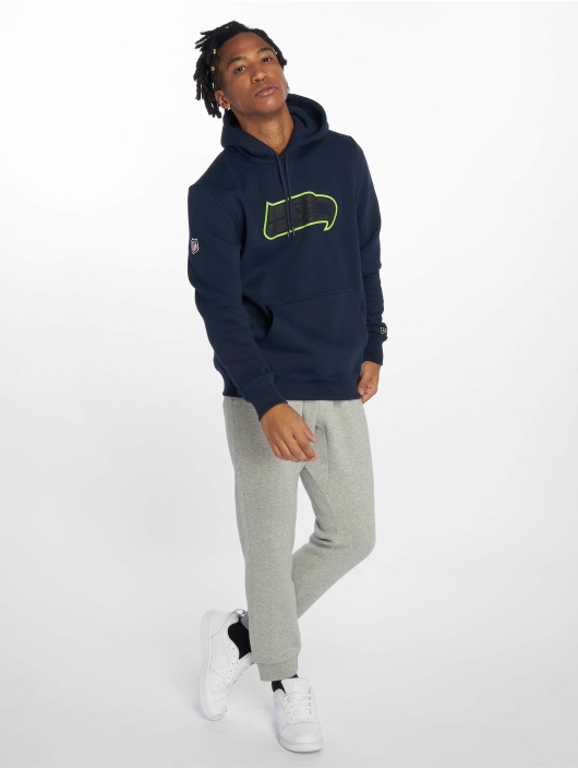 New Era Hoodie NFL Seattle Seahawks Fan blue