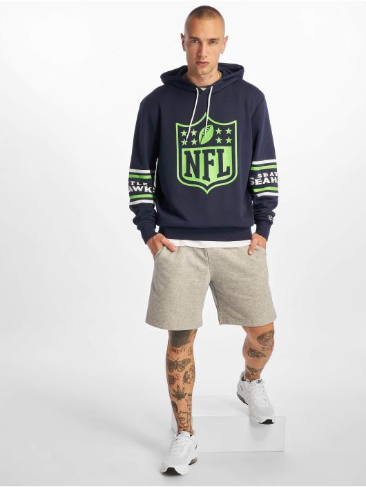 New Era Hoodie NFL Seattle Seahawks Badge blue