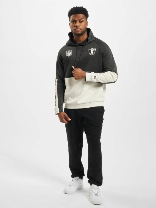 New Era Hoodie NFL Oakland Raiders Colour Block gray