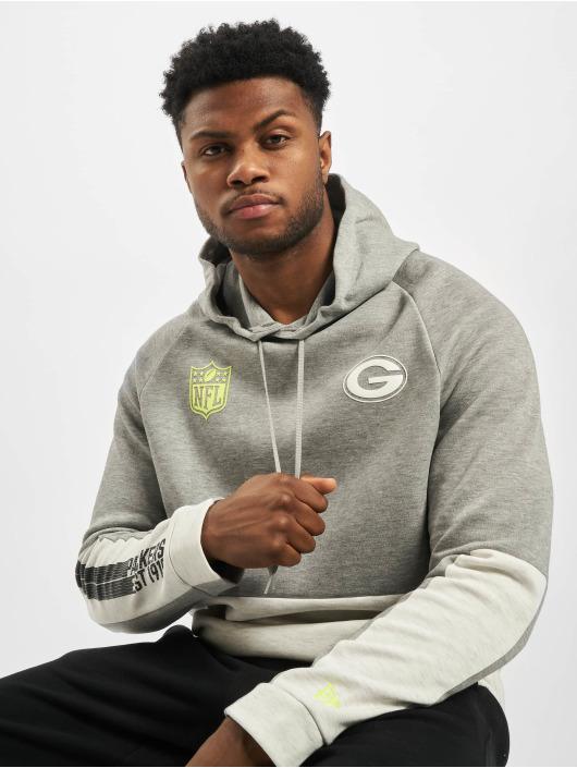 New Era Hoodie NFL Green Bay Packers Colour Block gray