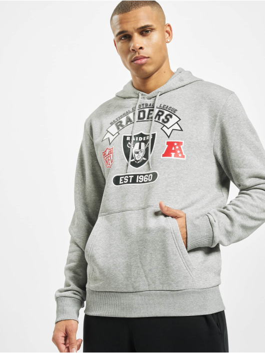 New Era Hoodie NFL Oakland Raiders Graphic Po grey