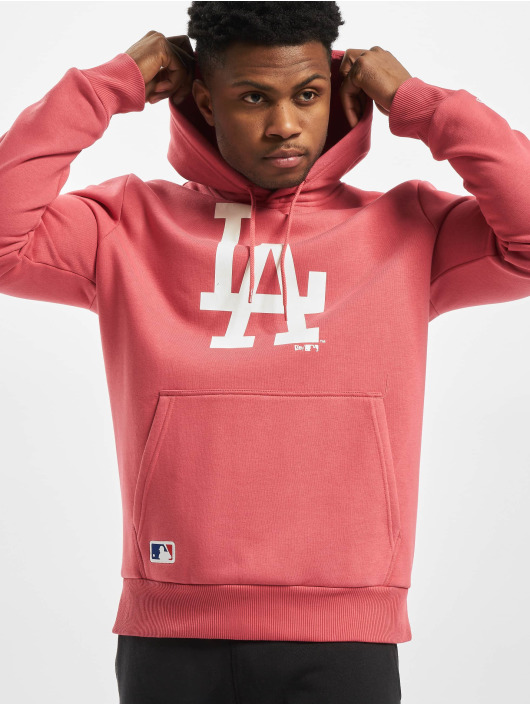 New Era Hoodie MLB LA Dodgers Seasonal Team Logo pink