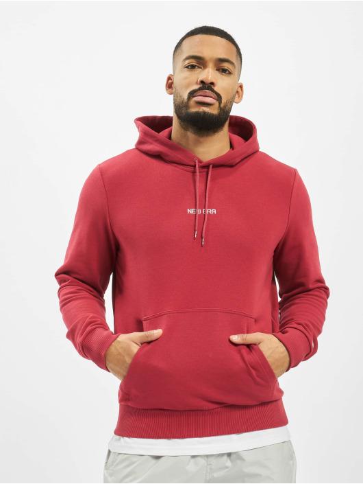 New Era Hoodie Essential röd