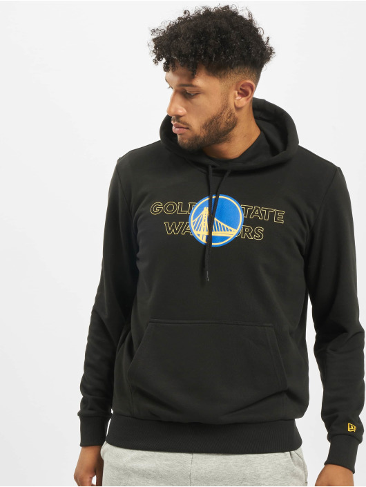 New Era Hoodie NBA Golden State Warriors Graphic Overlap svart