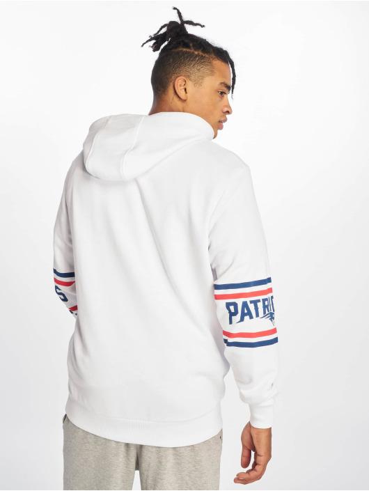 New Era Hoodie NFL New England Patriots Badge white