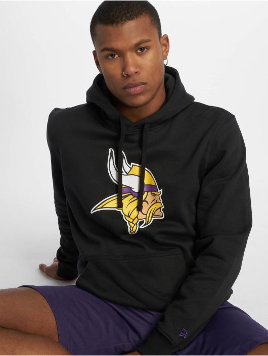 New Era Hoodies Team Minnesota Vikings Logo čern