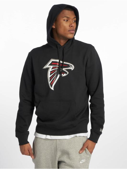 New Era Hoodies Team Atlanta Falcons Logo čern
